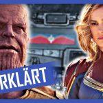 """5387 Captain Marvel: Post Credit Scene und die Zukunft von Marvel nach """"Avengers 4"""""""