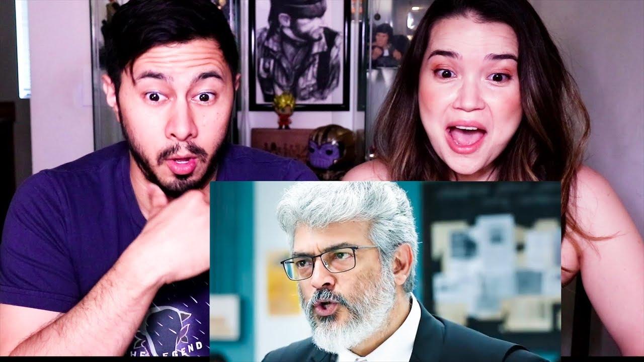 6130 NERKONDA PARVAAI |  Ajith Kumar | Shraddha Srinath | Trailer Reaction by Jaby Koay & Achara Kirk!