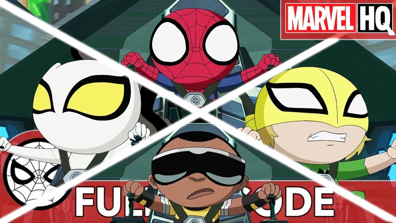 6302 Loki Turns Spider-Man Tiny!   Ultimate Spider-Man S2 Ep12 (FULL EP)   Itsy Bitsy Spider-Man