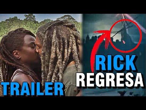 13813 The Walking Dead Temporada 10 Trailer-Rick Regresa Teaser Análisis Y Predicciones