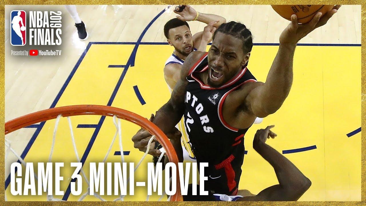 25703 2019 NBA Finals Game 3 Mini-Movie