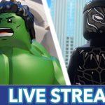 25918 LEGO Marvel Super Heroes Live Stream | Marvel HQ Marathon