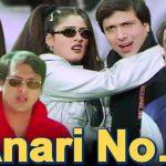31645 Anari No 1 Full Movie | Govinda Comedy Movie  | Raveena Tandon | Kader Khan | Hindi Comedy Movie