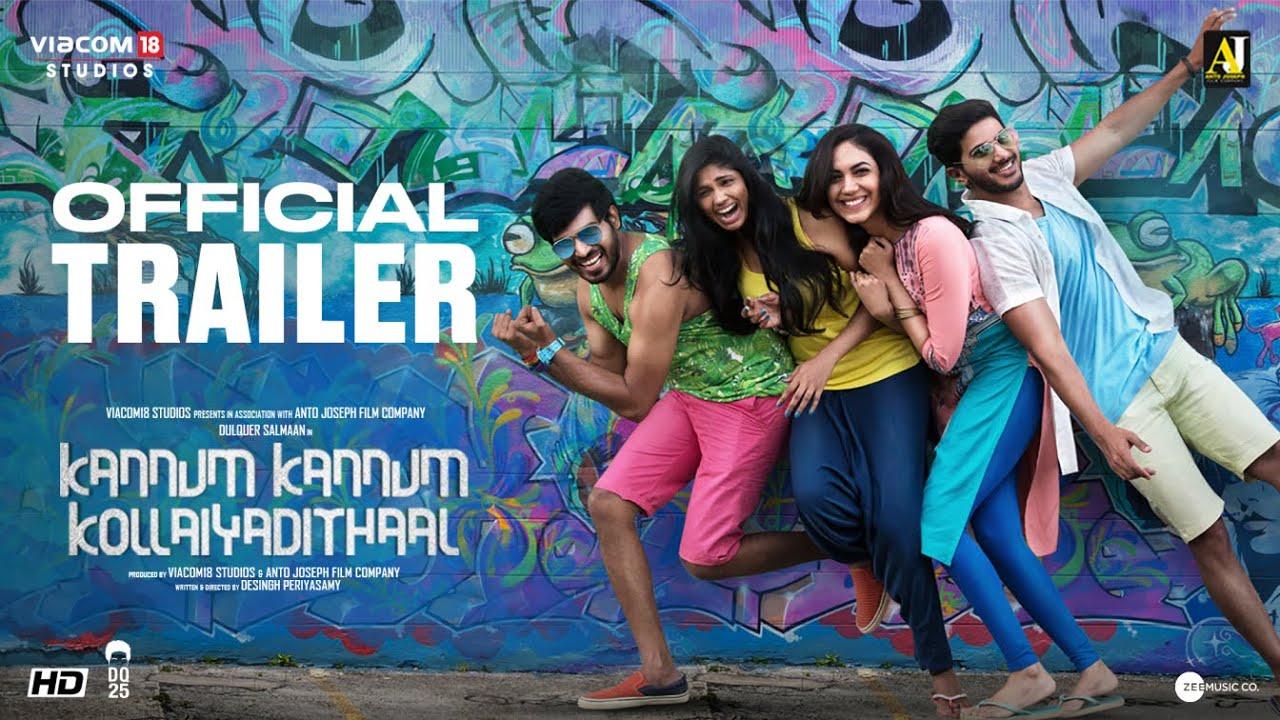 32288 Kannum Kannum Kollaiyadithaal | Second Official Trailer | Dulquer S, Ritu V, Rakshan, Niranjani A