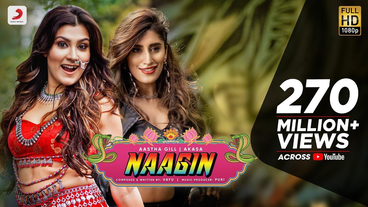 33734 Naagin - Vayu, Aastha Gill, AKASA, Puri | Official Music Video 2019