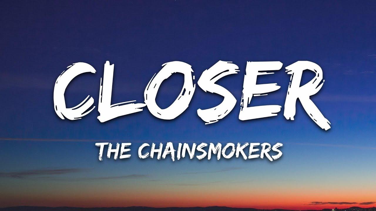 33752 The Chainsmokers - Closer (Lyrics) ft. Halsey